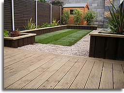 Wooden Decks Built In Hardwood, Standard Decking Timber Or A Combination Of  Them Both Will Create The Perfect Setting To Enjoy Those Long Summer  Evenings.